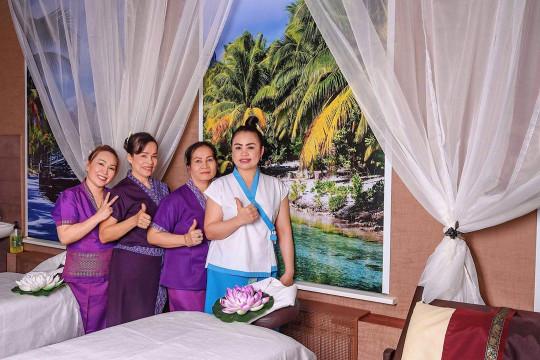 сотрудники остров тайского спа фото 10