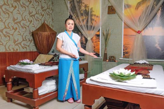 сотрудники остров тайского спа фото 14